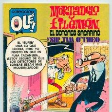 Tebeos: COLECCIÓN OLÉ! - MORTADELO Y FILEMÓN - ED. BRUGUERA - Nº 186 - 1ª EDICIÓN - 1979. Lote 52782775