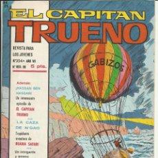 Tebeos: EL CAPITAN TRUENO EXTRA Nº 354 - AÑO VII. Lote 52894497