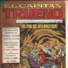 Tebeos: EL CAPITAN TRUENO EXTRA Nº 356 - AÑO VII. Lote 52894514
