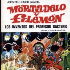 Tebeos: MORTADELO Y FILEMÓN - Nº 14 - LOS INVENTOS DEL PROFESOR BACTERIO - 1ª EDICIÓN 1972. Lote 52914877