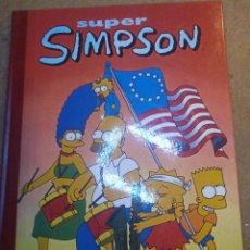 Tebeos: SUPER HUMOR SUPER SIMPSON. LOS SIMPSONS VOLUMEN Nº 4 EDICIONES B. Lote 52933391