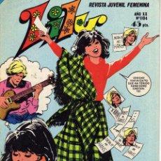 Tebeos: LILY REVISTA JUVENIL FEMENINA NÚMERO 1104 ED. BRUGUERA 1983. Lote 52942025
