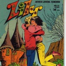Tebeos: LILY REVISTA JUVENIL FEMENINA NÚMERO 1122 ED. BRUGUERA 1983. Lote 52942470