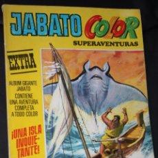 Tebeos: JABATO COLOR EXTRA. Nº 23. ¡UNA ISLA INQUIETANTE!.. Lote 52944588
