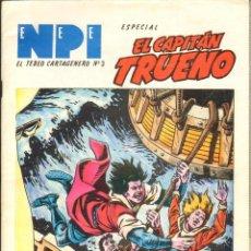 Tebeos: TEBEOS-COMICS CANDY - CAPITAN TRUENO NPI - ENEPEI - ESPECIAL EL CAPITAN TRUENO *XX99. Lote 52951273