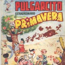 Tebeos: PULGARCITO EXTRA PRIMAVERA. BRUGUERA, 1949. INSPECTOR DAN, SILVER ROY DOÑA URRACA, CARPANTA.... Lote 52971050