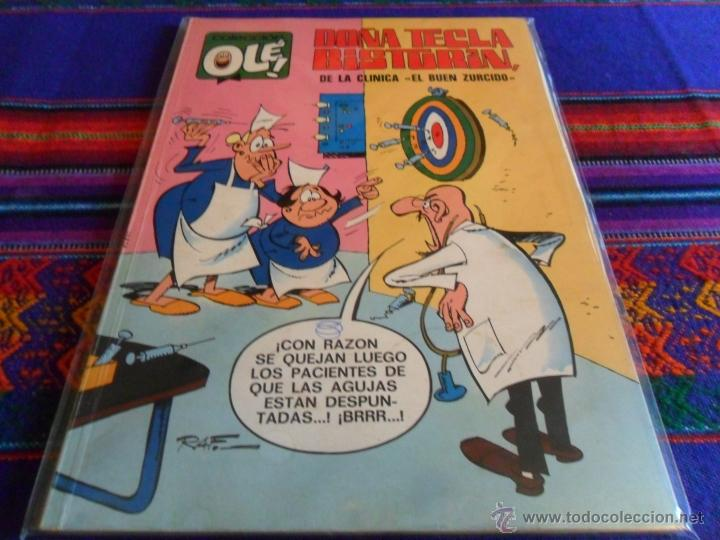 OLÉ Nº 63 DOÑA TECLA BISTURÍN. BRUGUERA 1971 1ª ED Nº LOMO. 40 PTS. MBE. DIFÍCIL!!!!! (Tebeos y Comics - Bruguera - Ole)