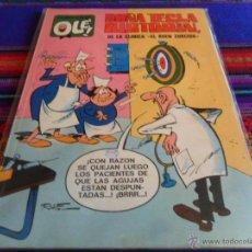 Tebeos: OLÉ Nº 63 DOÑA TECLA BISTURÍN. BRUGUERA 1971 1ª ED Nº LOMO. 40 PTS. MBE. DIFÍCIL!!!!!. Lote 52994896