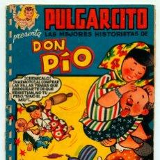 Tebeos: PULGARCITO - SERIE MAGOS DEL LÁPIZ - Nº 32 - DON PÍO - PEÑARROYA - ED. BRUGUERA - 1951. Lote 53002289