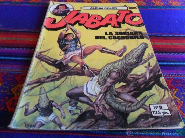 Tebeos: JABATO COLOR EXTRA 4ª ÉPOCA ALBUM NºS 1(2) 2(3) 3 4(4) 5 6(2) 7(3) 9(2) 11. BRUGUERA 1980. SUELTOS - Foto 6 - 51332664
