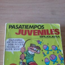 Tebeos: PASATIEMPOS JUVENILES BRUGUERA Nº 2. BRUGUERA 1975. - MORTADELO (128 PÁGINAS). Lote 53046352
