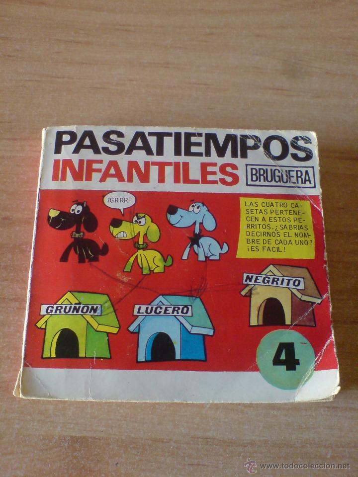 PASATIEMPOS INFANTILES BRUGUERA Nº 4. BRUGUERA 1975. 1ª EDICION 1975 (Tebeos y Comics - Bruguera - Otros)
