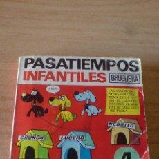 Tebeos: PASATIEMPOS INFANTILES BRUGUERA Nº 4. BRUGUERA 1975. 1ª EDICION 1975. Lote 53046417