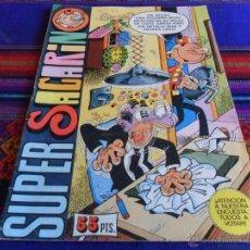 Tebeos: SUPER SACARINO Nº 62. BRUGUERA 1981. 55 PTS. BUEN ESTADO.. Lote 53060754