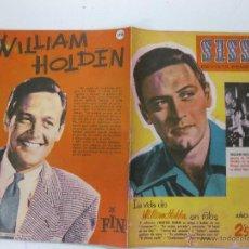 Tebeos: SISSI, REVISTA FEMENINA Nº 178. LA VIDA DE WILLIAM HOLDEN EN FOTOS....BRUGUERA 24 JULIO 1961 . Lote 53063604