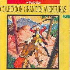 Tebeos: COLECCION GRANDES AVENTURAS, VOLUMEN 1. LOTE DE 15 NUMEROS. Lote 53070149