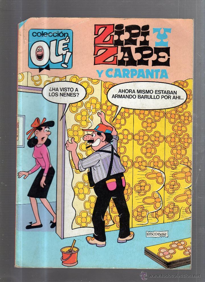 ZIPI Y ZAPE Y CARPANTA. COLECCION OLE!. Z 141. EDITORIAL BRUGUERA (Tebeos y Comics - Bruguera - Ole)