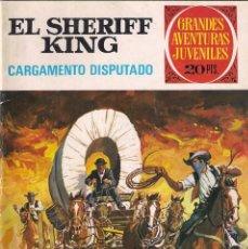 Tebeos: GRANDES AVENTURAS JUVENILES. EL SHERIFF KING. Nº 8 . 2º EDICIÓN. Lote 53117442