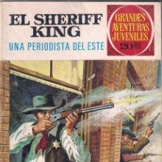 Tebeos: GRANDES AVENTURAS JUVENILES. EL SHERIFF KING. Nº 31 . 2º EDICIÓN. Lote 53117508