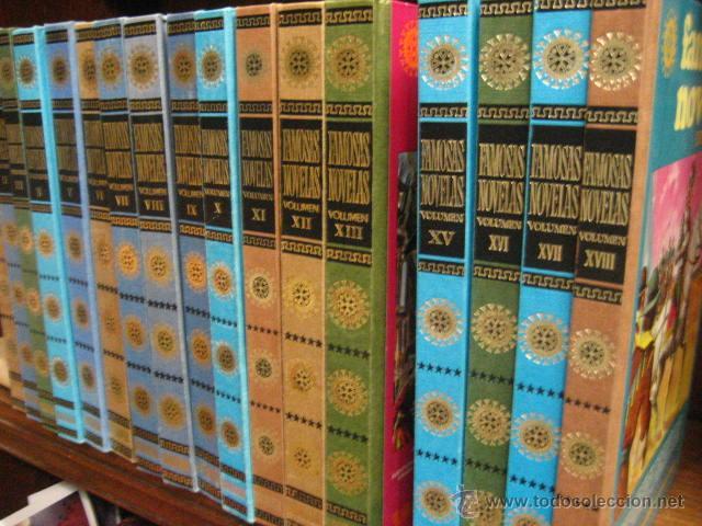 8ee475d28 15 tomos famosas novelas, bruguera del 1 al 18 - Vendido en Venta ...