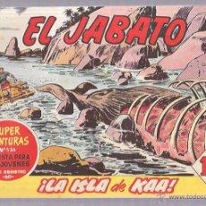 Tebeos: EL JABATO. Nº168. ¡LA ISLA DE KAA!. Lote 53136027