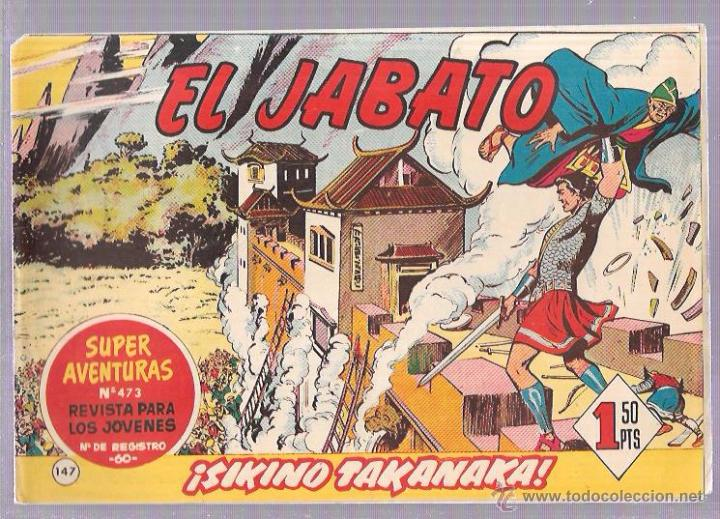 EL JABATO. Nº147. ¡SIKINO TAKANAKA! (Tebeos y Comics - Bruguera - Jabato)