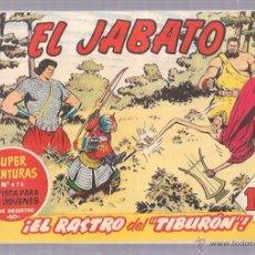 Tebeos: EL JABATO. Nº148. ¡EL RASTRO DEL TIBURÓN!. Lote 53136061