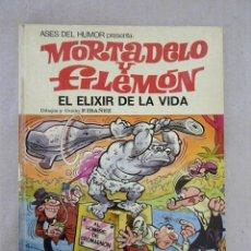 Tebeos: MORTADELO ASES DEL HUMOR Nº 26 EL ELIXIR DE LA VIDA / 1ª EDICION BRUGUERA 1973. Lote 116538856