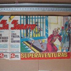 Tebeos: EL JABATO- Nº 328 Y 368 EDIT. BUGUERA- 1965. Lote 53177793