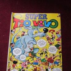 Tebeos: SUPER TIO VIVO Nº 2. BRUGUERA CON BILLETES DE MORTADELO 1972 TEBENI. Lote 53186636