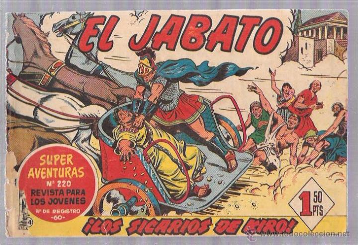 EL JABATO. ¡LOS SICARIOS DE KIRO! (Tebeos y Comics - Bruguera - Jabato)