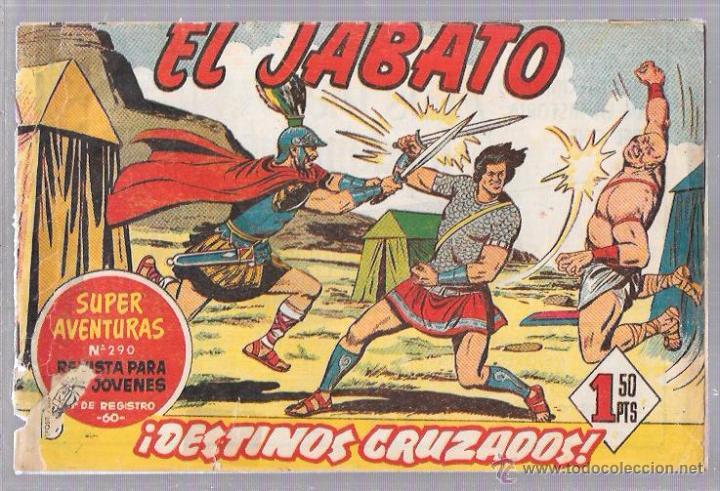 EL JABATO. ¡DESTINOS CRUZADOS! (Tebeos y Comics - Bruguera - Jabato)