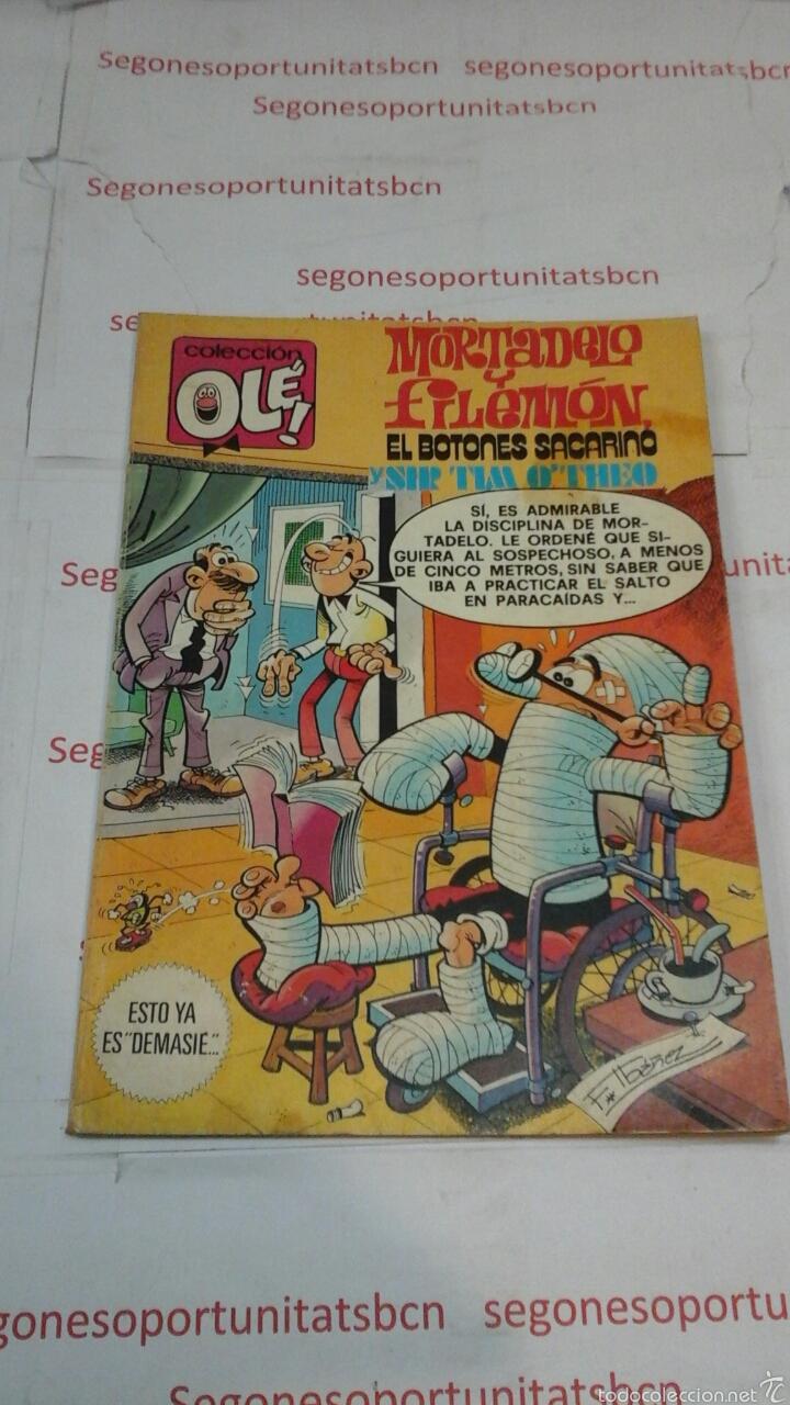 MORTADELO Y FILEMON - EL BOTONES SACARINO - N° 187 - BRUGUERA (Tebeos y Comics - Bruguera - Ole)
