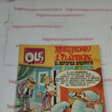 Tebeos: MORTADELO Y FILEMON - EL BOTONES SACARINO - N° 187 - BRUGUERA. Lote 53232965