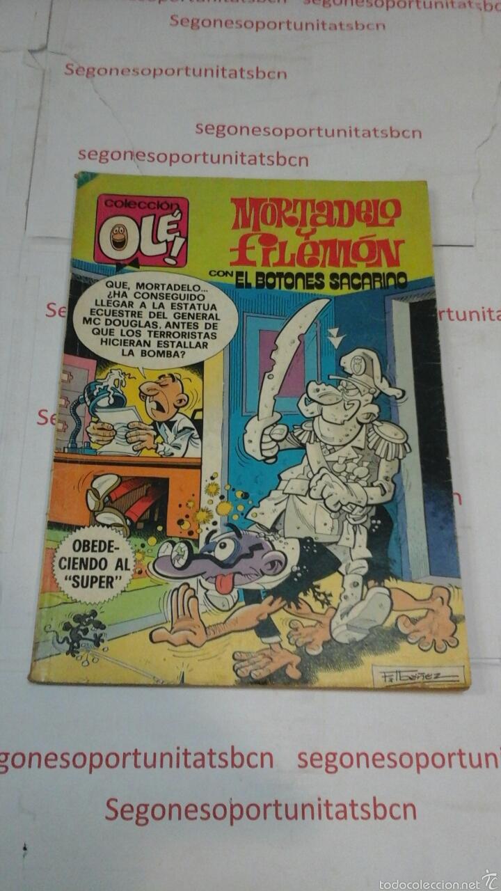 MORTADELO Y FILEMON - CON EL BOTONES SACARINO - N°204 - BRUGUERA (Tebeos y Comics - Bruguera - Ole)