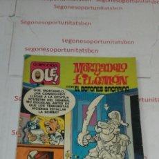 Tebeos: MORTADELO Y FILEMON - CON EL BOTONES SACARINO - N°204 - BRUGUERA. Lote 53233195