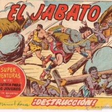 Tebeos: EL JABATO ,ORIGINAL,Nº 231,EDIT. BRUGUERA.. Lote 53235647