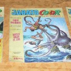 Tebeos: 3 COMICS JABATO COLOR 8 PTS. AÑOS 70. Lote 53246161