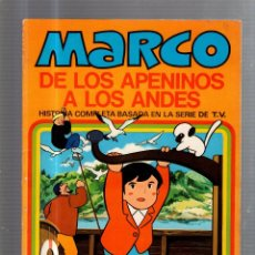 Tebeos: MARCO DE LOS APENINOS A LOS ANDES. UN DIA INTERMINABLE. Nº 10. EDITORIAL BRUGUERA. Lote 57313963