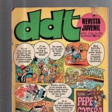 Tebeos: DDT. REVISTA JUVENIL. AÑO XXIV. Nº 425. III EPOCA. CON PEPE GOTERA Y OTILIO. Lote 53296058