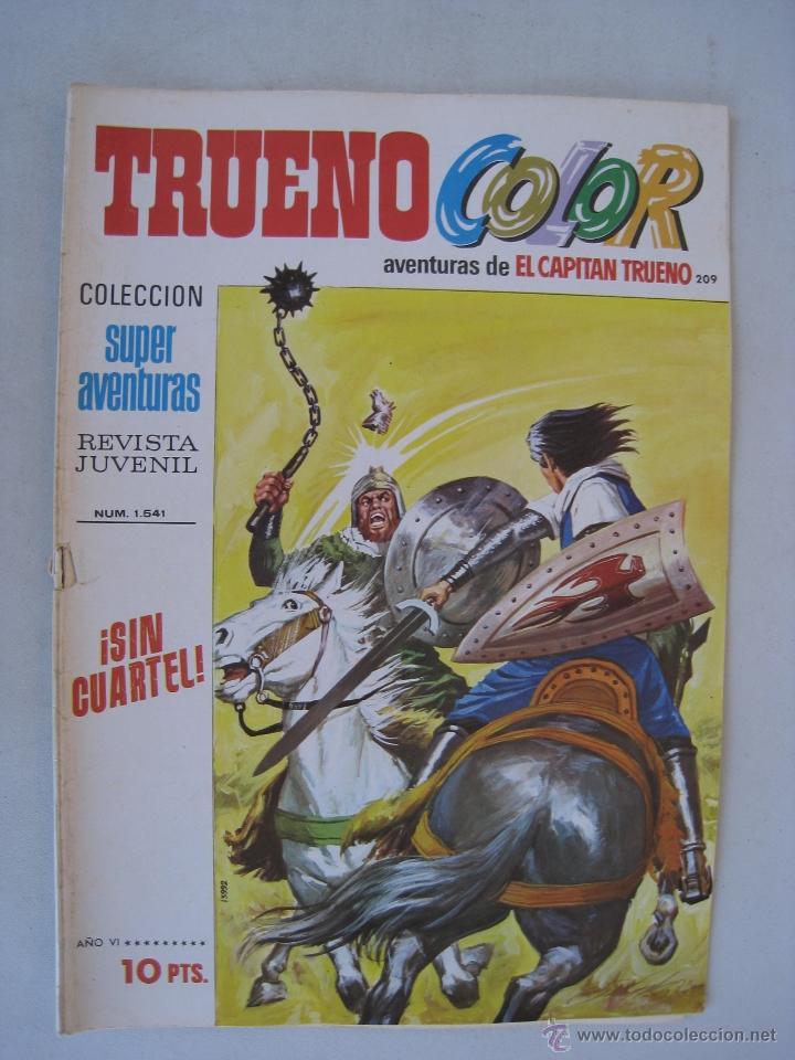 Tebeos: TRUENO COLOR Nº 209 - BRUGUERA. - Foto 2 - 53344574