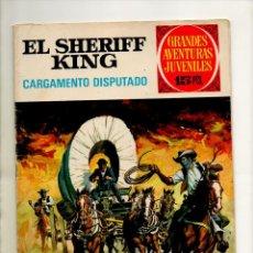 Tebeos: GRANDES AVENTURAS JUVENILES 8 EL SHERIFF KING - BRUGUERA 1971 - 1ª EDICIÓN - EXCELENTE. Lote 53359591
