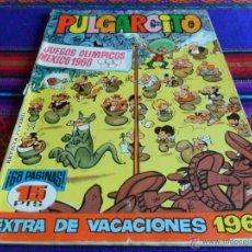 Tebeos: PULGARCITO EXTRA VACACIONES 1968 CON SHERIFF KING. BRUGUERA 1968.. Lote 53367775