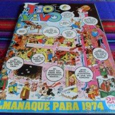 Tebeos: TIO VIVO ALMANAQUE 1974. BRUGUERA 25 PTS. BUEN ESTADO.. Lote 53367911