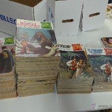 Tebeos: JOYAS LITERARIAS JUVENILES + GRANDES AVENTURAS JUVENILES / COMPLETO / BRUGUERA. Lote 53382403