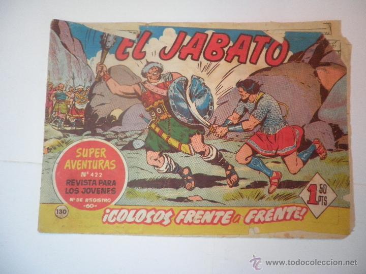JABATO Nº 281 LOS FANTASMAS DE WONG-WAH 1964 (Tebeos y Comics - Bruguera - Jabato)