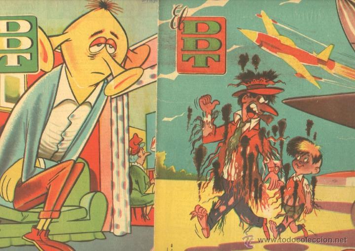 EL DDT EDI. BRUGUERA 1951 - LOTE 232 EJEMPLARES DIFERENTES, PRECIO DE NAVIDAD - SE VENDEN SUELTOS (Tebeos y Comics - Bruguera - DDT)