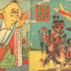 Tebeos: EL DDT EDI. BRUGUERA 1951 - LOTE DE 232 EJEMPLARES DIFERENTES, VER LISTADO - SE VENDEN NºS SUELTOS. Lote 122993572
