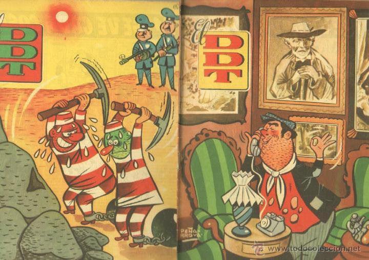 Tebeos: EL DDT EDI. BRUGUERA 1951 - LOTE 232 EJEMPLARES DIFERENTES, PRECIO DE NAVIDAD - SE VENDEN SUELTOS - Foto 2 - 122993572