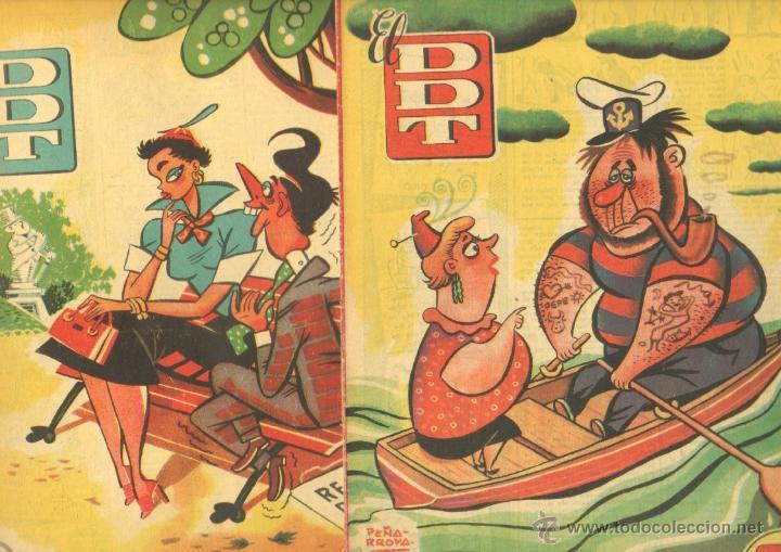 Tebeos: EL DDT EDI. BRUGUERA 1951 - LOTE 232 EJEMPLARES DIFERENTES, PRECIO DE NAVIDAD - SE VENDEN SUELTOS - Foto 3 - 122993572